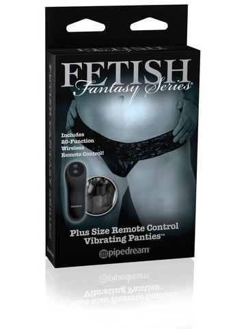 Fetish Fantasy Limited Edition Remote Control Vibrating Plus Panty