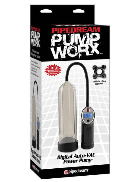 Pump Worx Digital Auto-Vac Power Pump