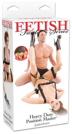 Fetish Fantasy Series Heavy Duty Position Master Black