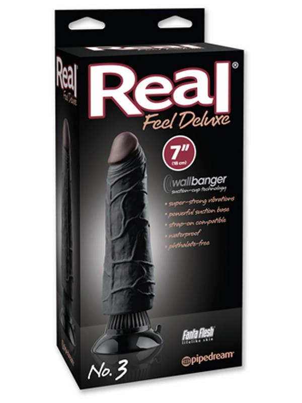 Real Feel Deluxe No. 3 Black