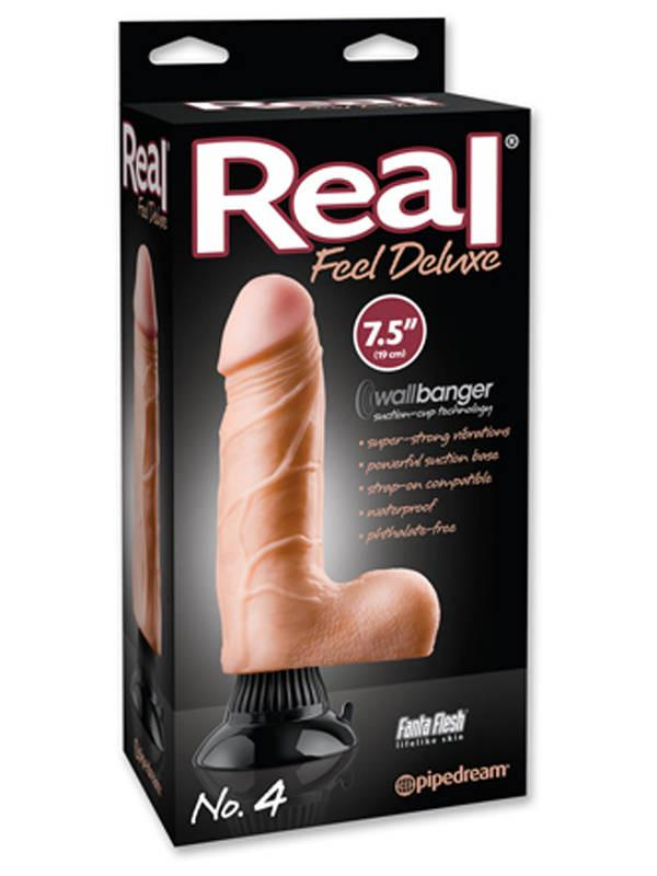 Real Feel Deluxe No. 4 Flesh