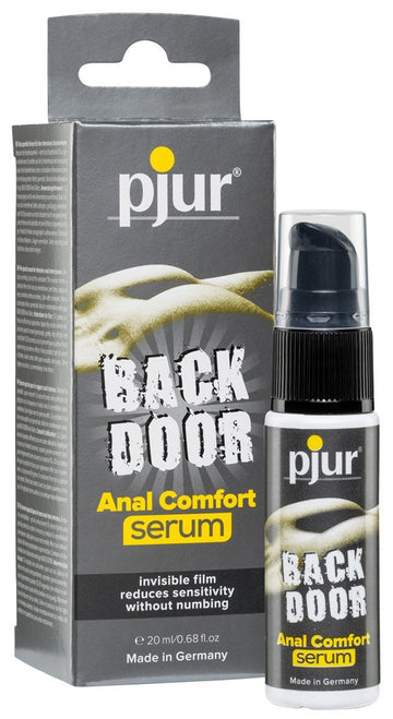 Back Door Anal Comfort Serum 20ml - joujou.com.au