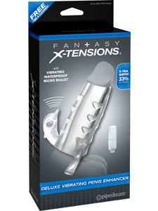 Fantasy X-tensions Deluxe Vibr Penis Enhancer