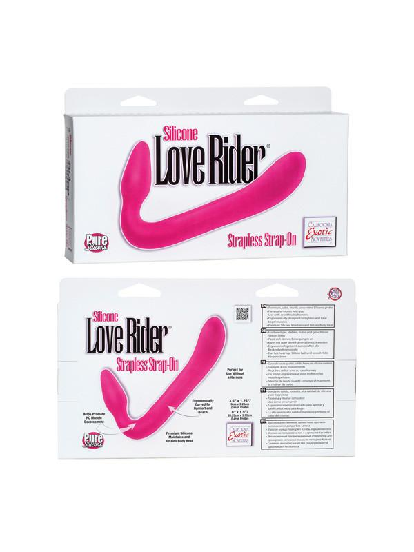 Silicone Love Rider Strapless Strap-On