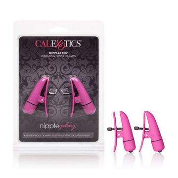 Nipplettes Wireless Vibrating Nipple Clamps - joujou.com.au
