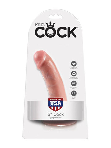 King Cock - 6 in. Cock Flesh