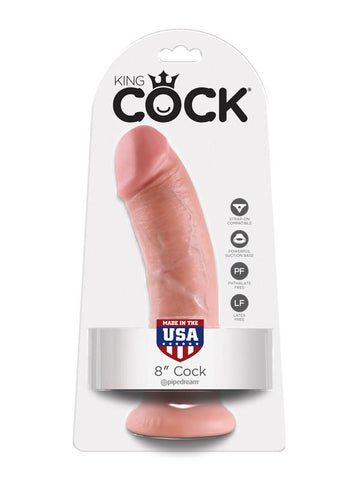 King Cock - 8 in. Cock Flesh