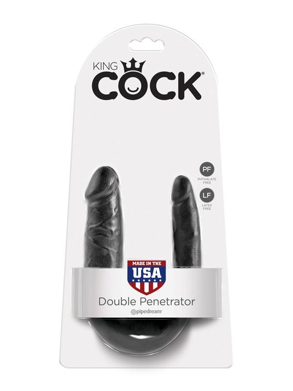 King Cock - S Double Trouble Black