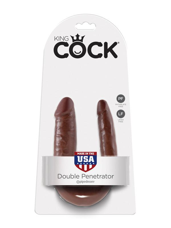 King Cock - S Double Trouble Brown