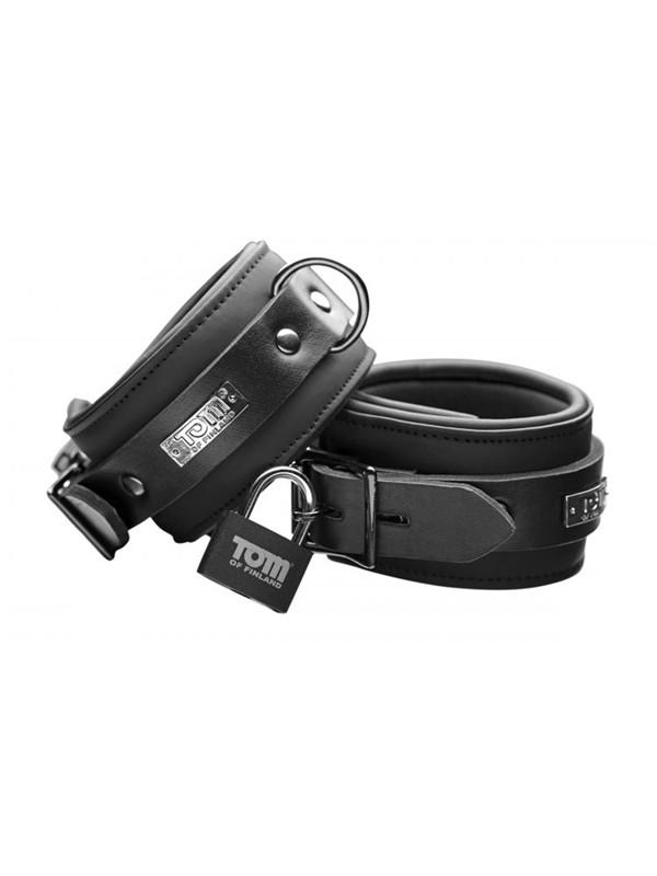 Neoprene Ankle Cuffs With Locks - joujou.com.au