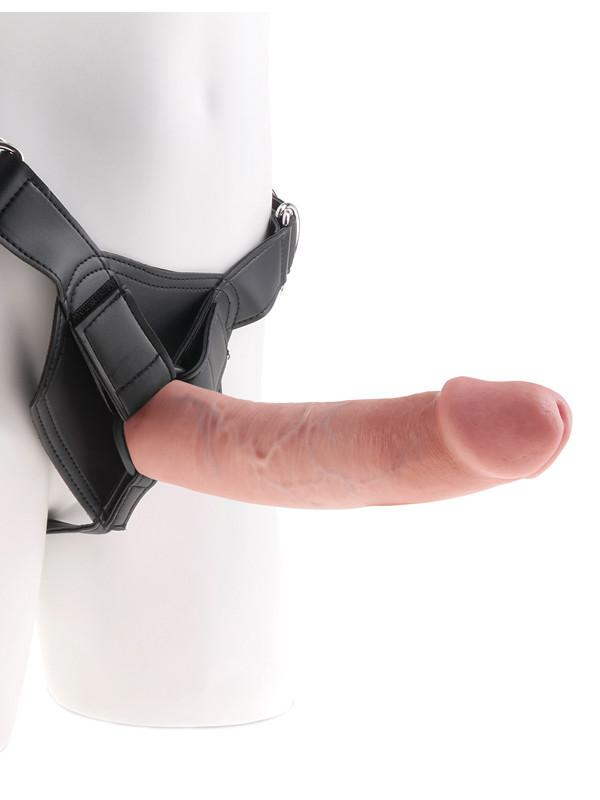King Cock Strap-On Harness W/9 in. Cock - joujou.com.au