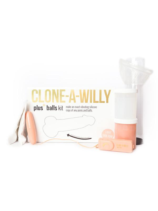 Clone A Willy Plus Balls Kit - joujou.com.au