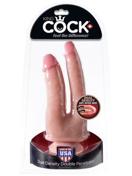 King Cock Dual Density Double Penetrator