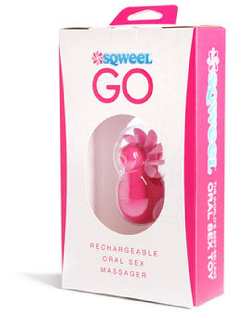 Sqweel Go Rechargeable Oral Sex Simulator