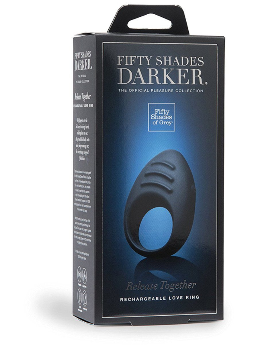Fifty Shades Darker Release Together Love Ring - joujou.com.au