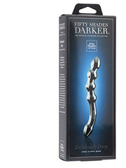 Fifty Shades Darker Delicioulsy Deep Steel G-Spot Dildo