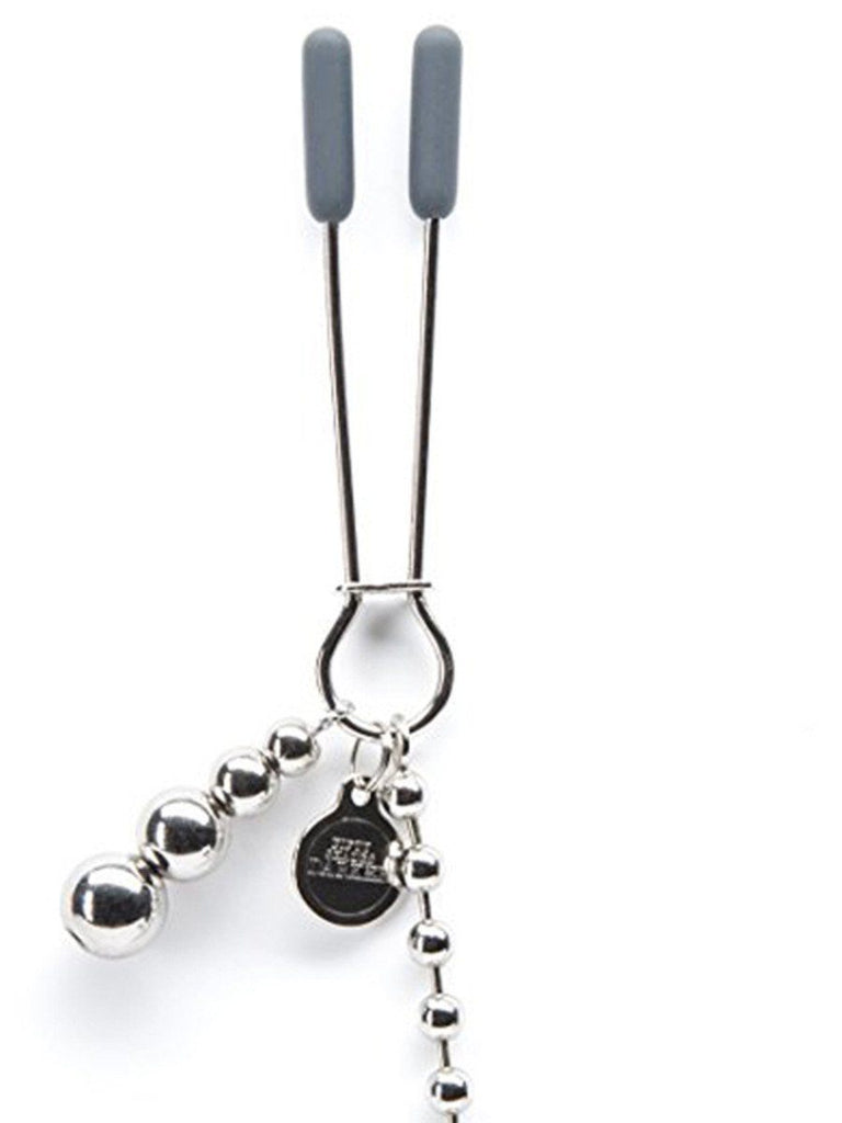 Fifty Shades Darker At My Mercy beaded Nipple Clamps