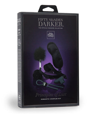 Fifty Shades Darker Principles of Lust Romance Couples Kit - joujou.com.au