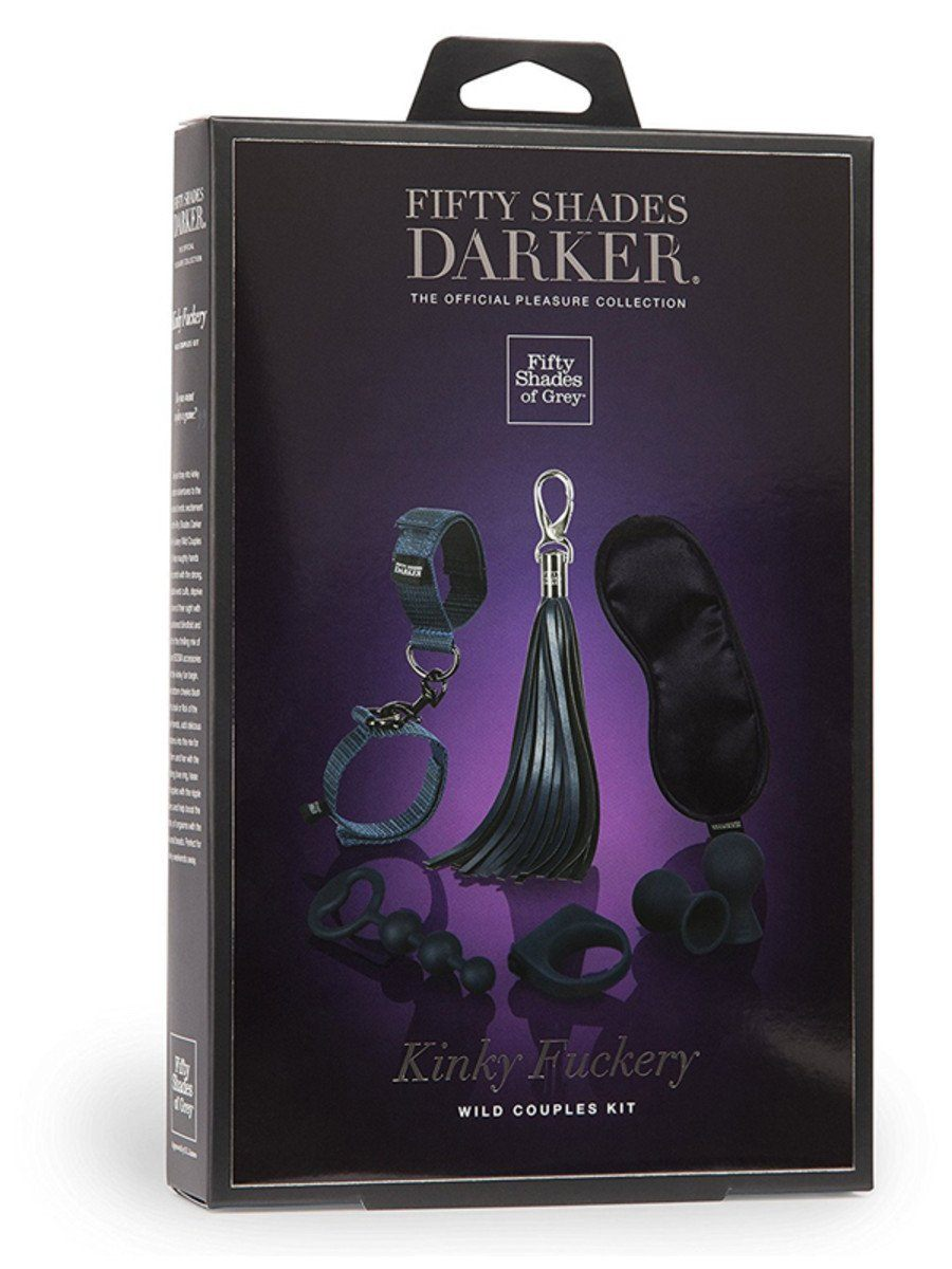 Fifty Shades Darker Kinky Fuckery Couples Kit - joujou.com.au