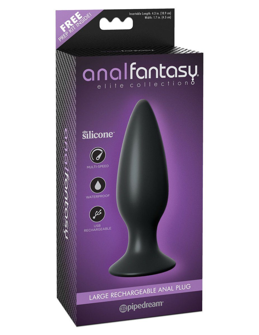 Anal Fantasy Elite Rechargeable Anal Plug