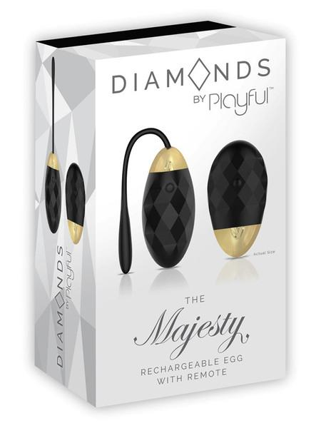 Diamonds The Majesty - Rechargeable Egg with Remote - joujou.com.au