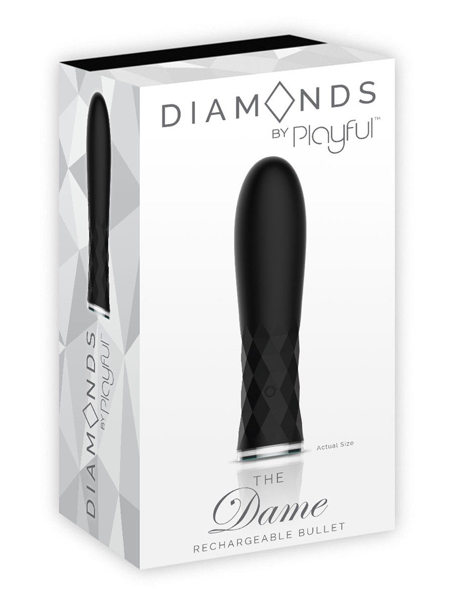 Playful Diamonds The Dame - Rechargeable Bullet