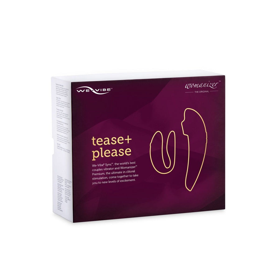 Tease and Please Premium collection by We-Vibe / Womanizer - joujou.com.au