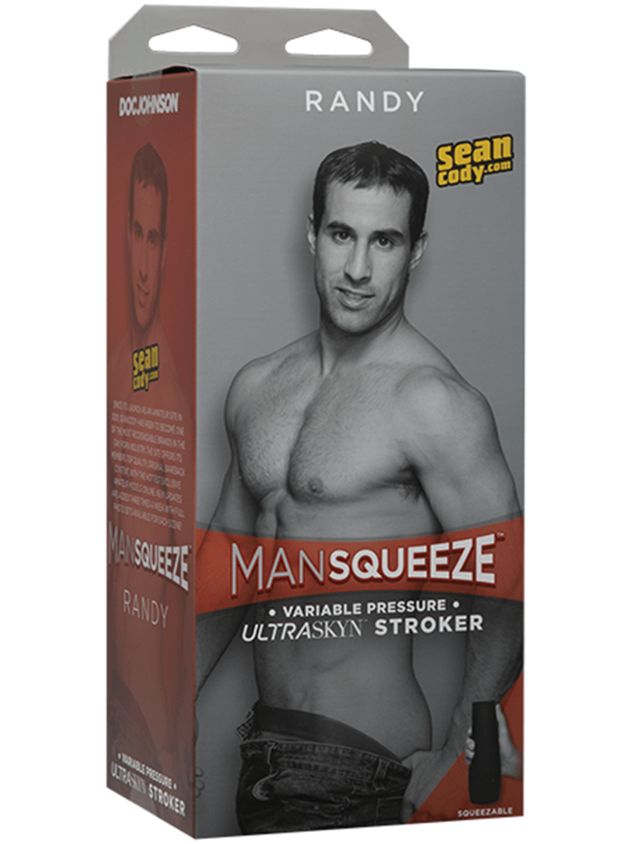 Man Squeeze - Randy ULTRASKYN Stroker - Ass