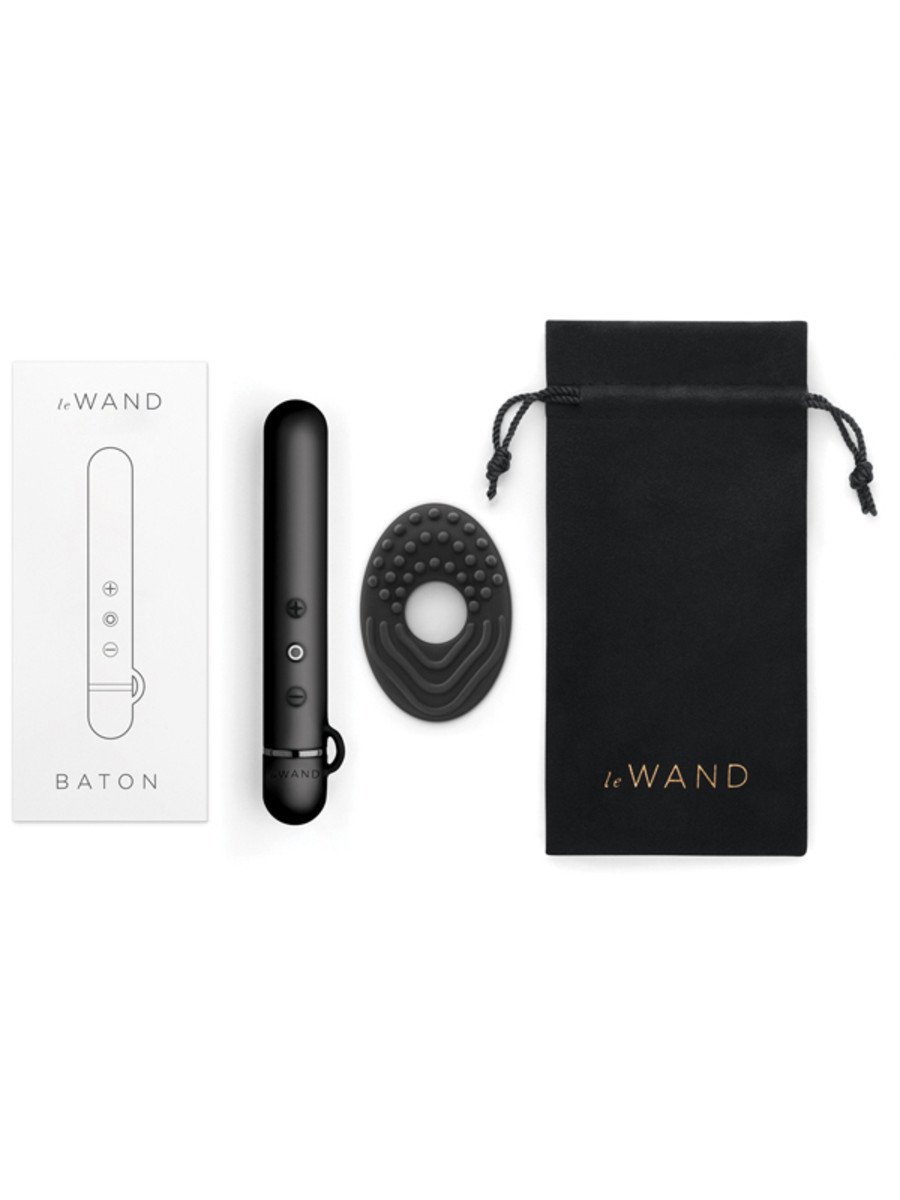 Le Wand Chrome Collection Baton Vibrator