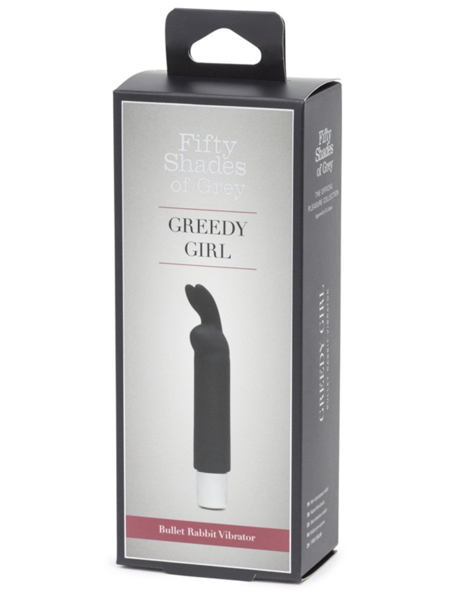 FIFTY SHADES OF GREY GREEDY GIRL BULLET RABBIT VIBRATOR