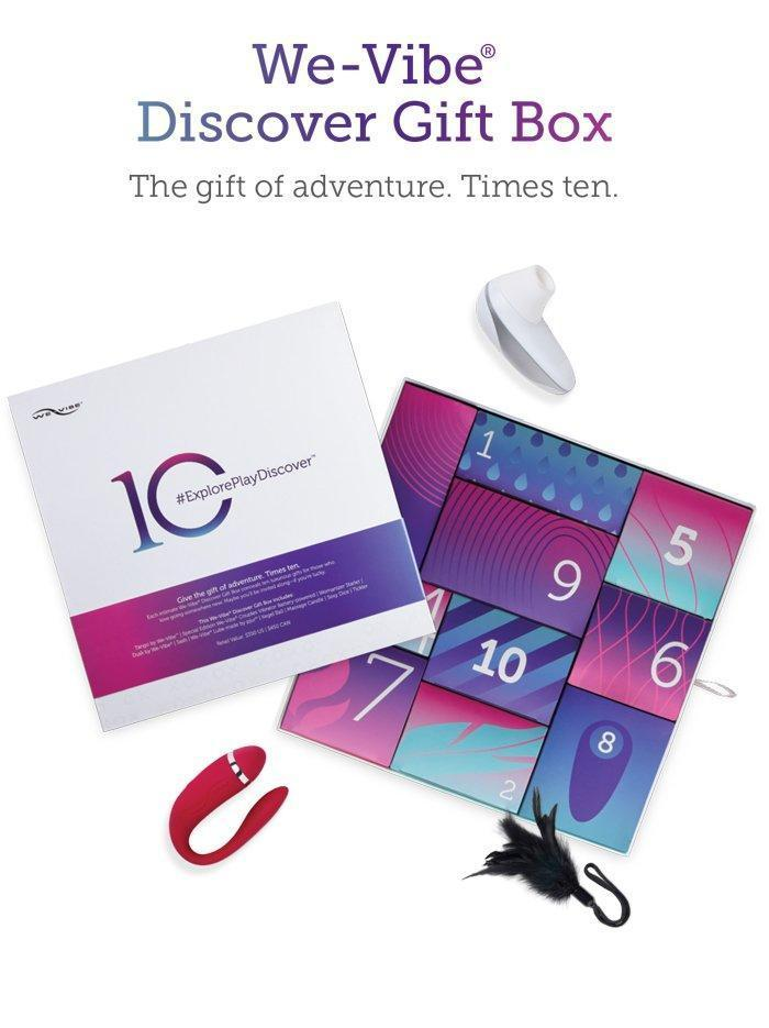 We-Vibe / Womanizer Discover 10 Day Gift Box