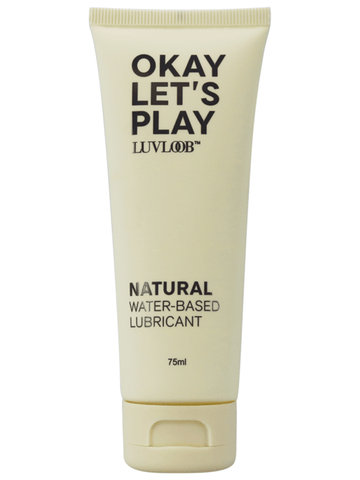 Luvloob Okay Lets Play Natural Lubricant