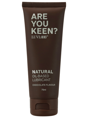 Luvloob Are You Keen Oil-Based Lubricant Chocolate