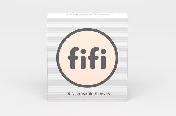Fifi Male Masturbator Grey with 5 Sleeves - joujou.com.au