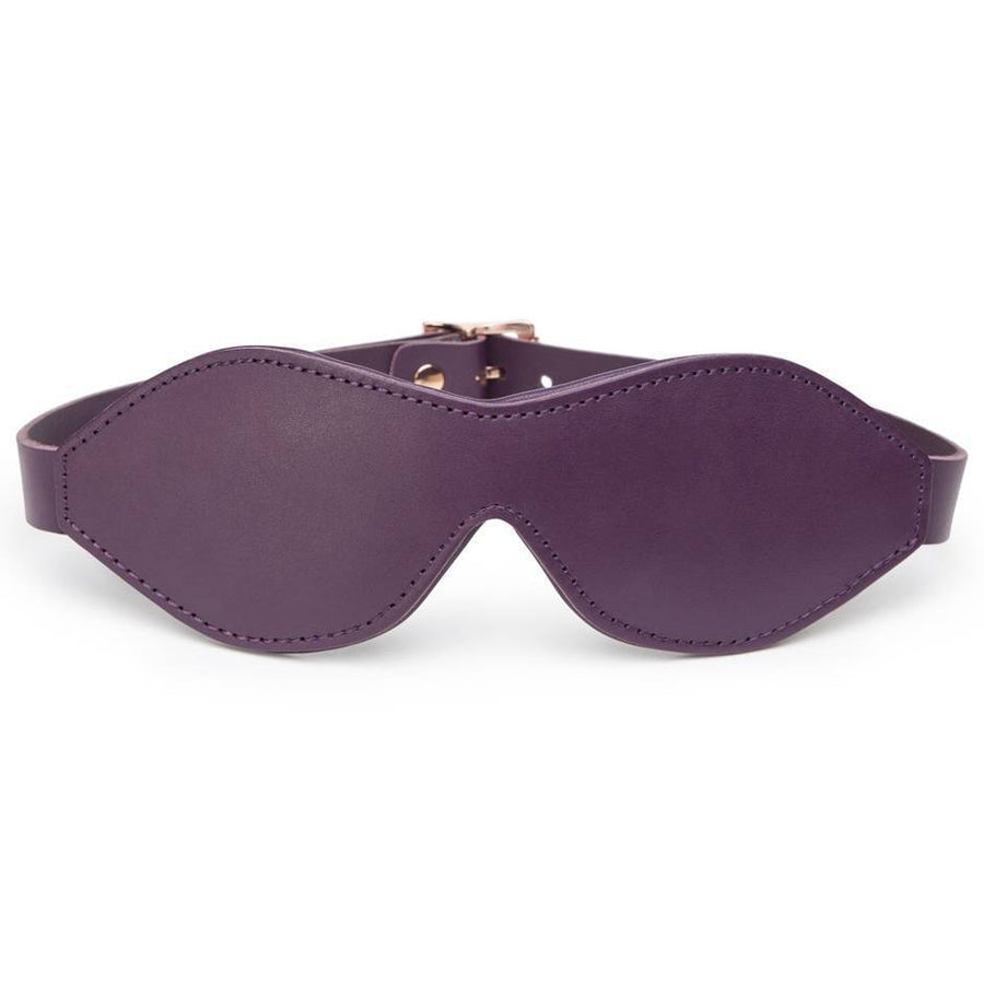 FIFTY SHADES FREED CHERISHED COLLECTION LEATHER BLINDFOLD - joujou.com.au