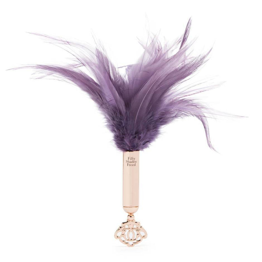 FIFTY SHADES FREED CHERISHED COLLECTION FEATHER TICKLER - joujou.com.au