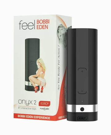 Kiiroo Onyx2 with Bobbi Eden Fleshlight Experience
