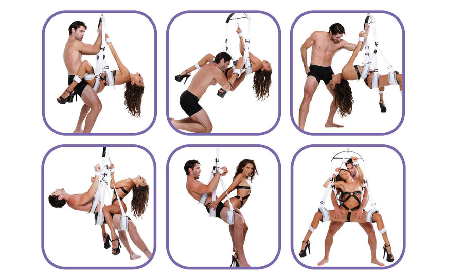 Fetish Fantasy Bondage Swing - White