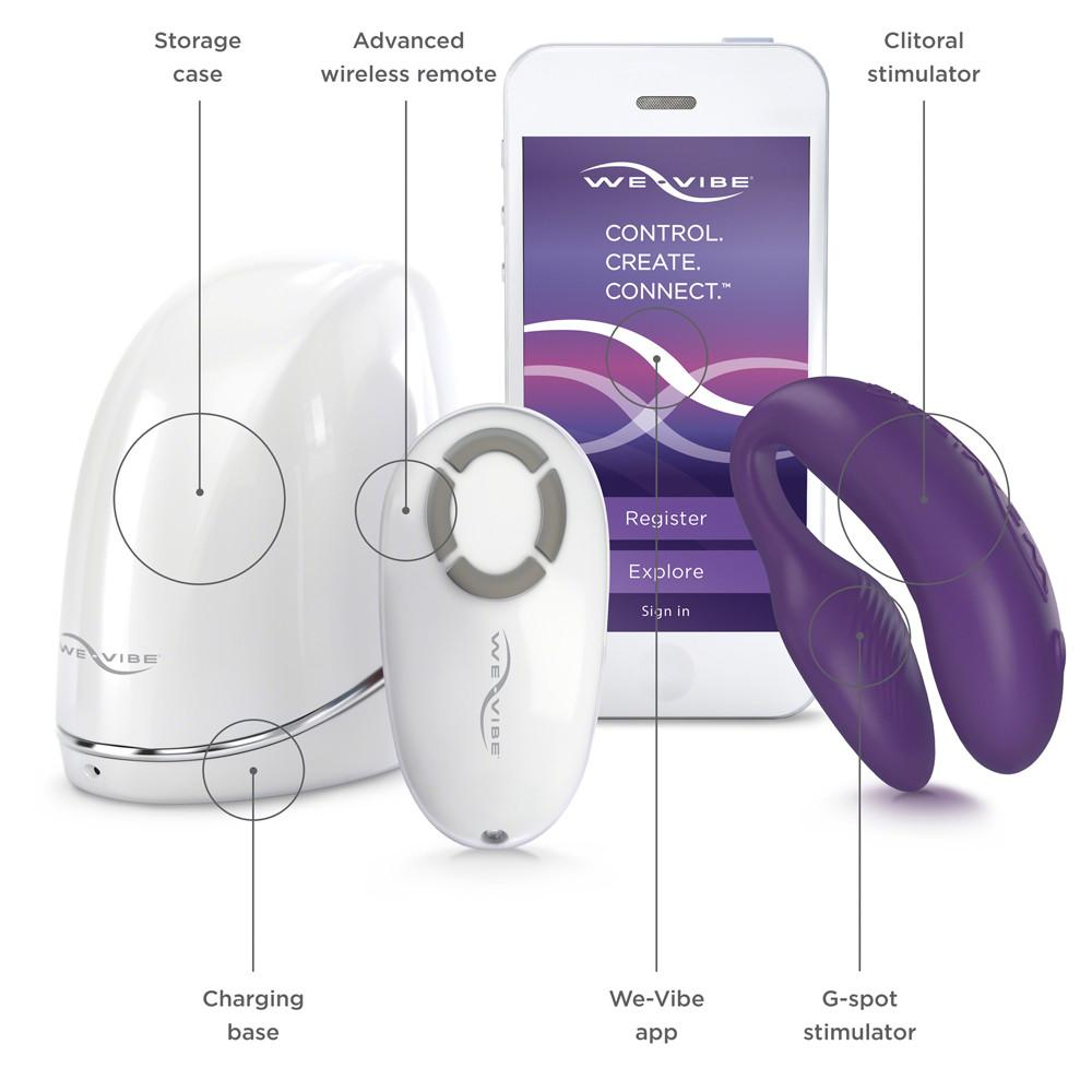 WeVibe 4 Plus Couples Vibrator