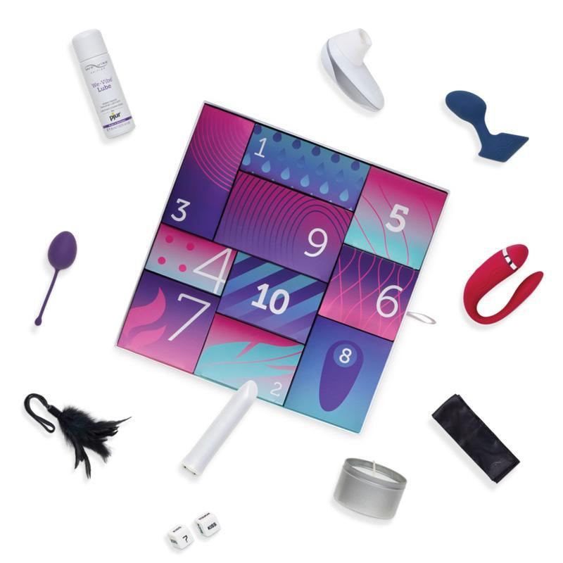 We-Vibe Discover 10 Day Gift Box - Christmas