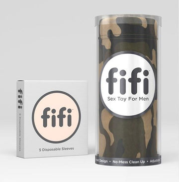 Fifi Male Masturbator Camo with 5 Sleeves - joujou.com.au