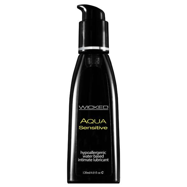 Wicked Aqua Sensitive Hypoallergenic Lube - joujou.com.au