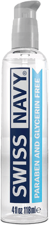 Swiss Navy Paraben and Glycerin Free