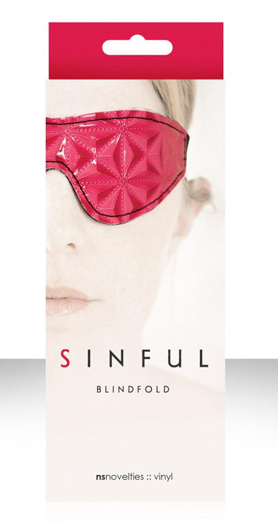 NS Novelties Sinful Pink Blindfold