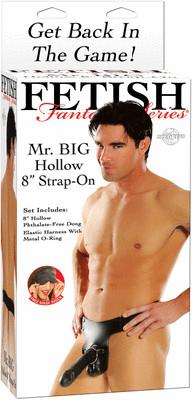 Fetish Fantasy Mr Big Hollow 8 in Strap On