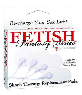 Fetish Fantasy Shock Therapy Replacement Pads x 12 pieces