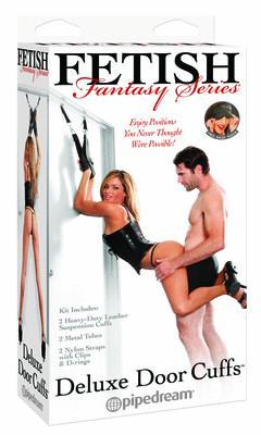 Fetish Fantasy Deluxe Door Cuffs
