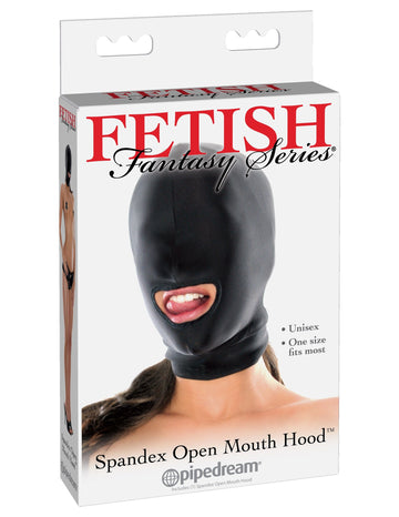 Fetish Fantasy Spandex Open Mouth Hood - joujou.com.au