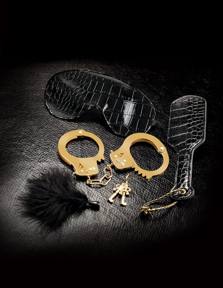 Fetish Fantasy Gold Beginner's Fantasy Kit - joujou.com.au