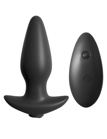 Anal Fantasy Collection Remote Control Silicone Plug - joujou.com.au